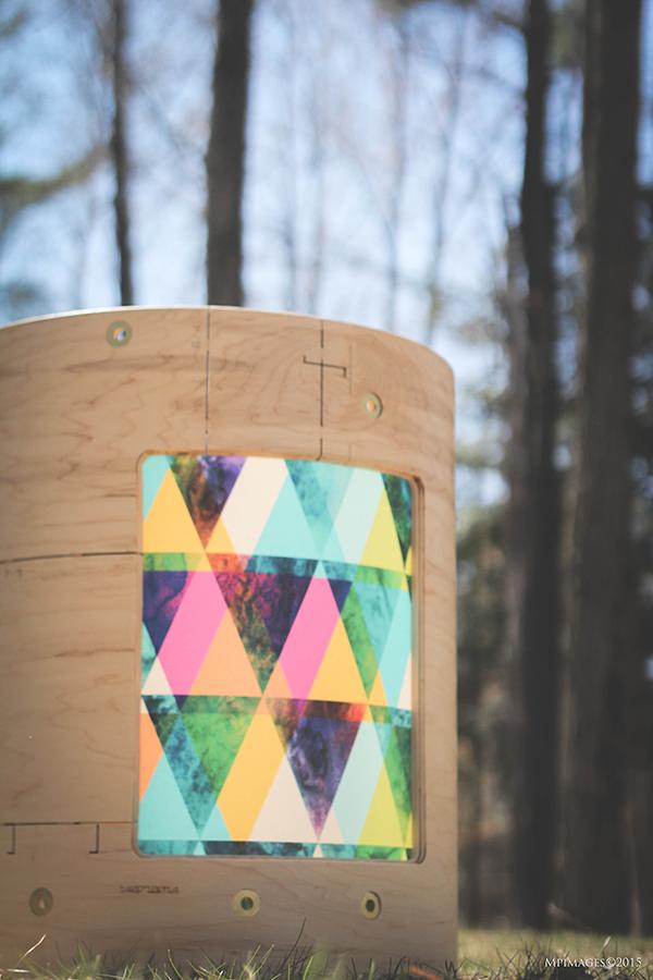 coquille de bois naturel