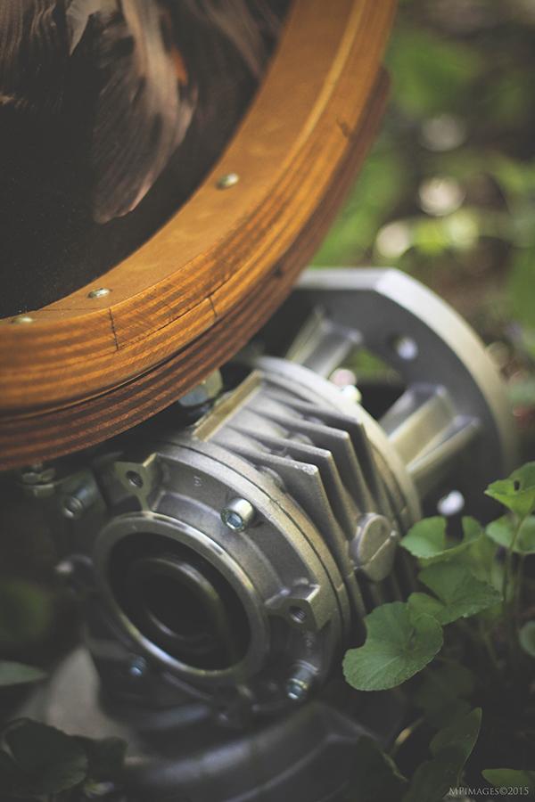 pièce mécanique recyclée